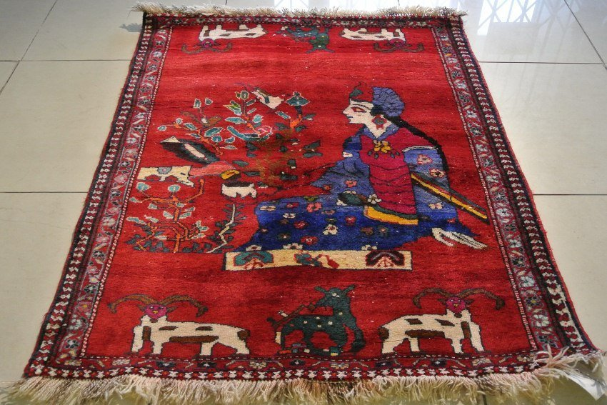 Persian rug gabbeh hand made Sharzad