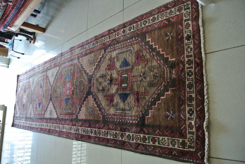 Persian rug Antique Heriz runner