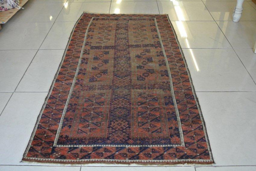 Perian carpet antique low pile Baloochestan
