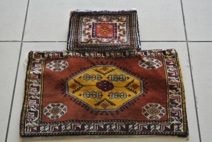 Persian rug salt bag Shahzavan