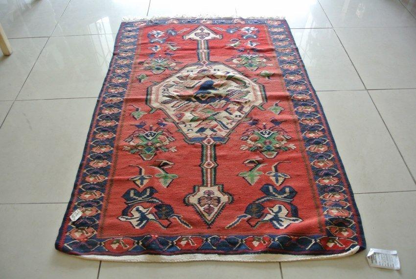 Persian rug antique Seneh Kilim