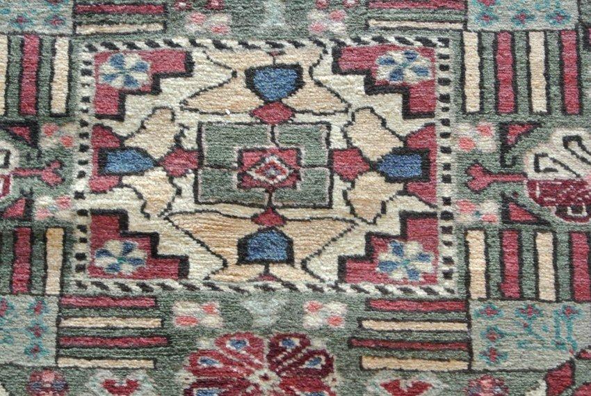 Persian carpet  Ardebil star Kazak Design