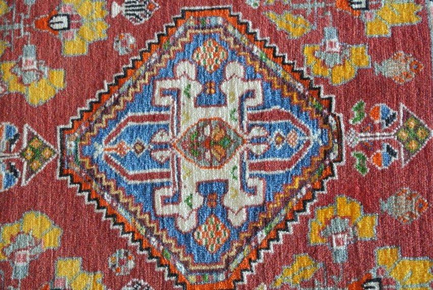 Persian rug connected Mats Shiraz Morji rug