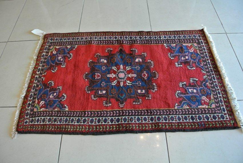 Persian carpet Medallion on open field malayer
