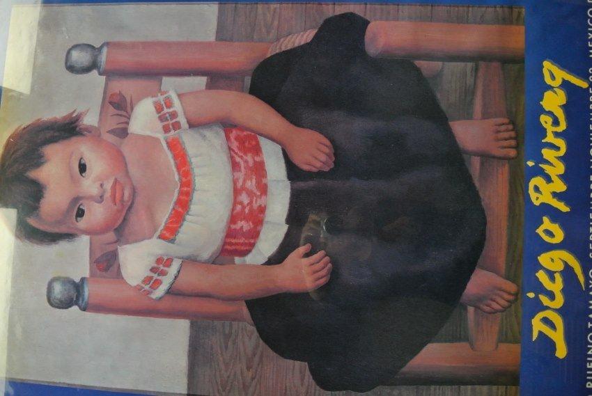 Antique rare Print Diego Rivera