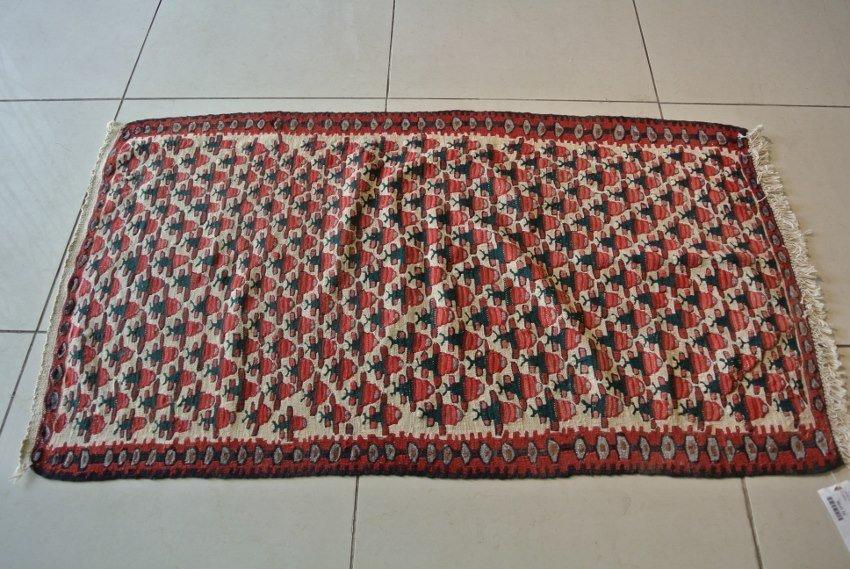 Persian rug hand made Kurdestan kilim