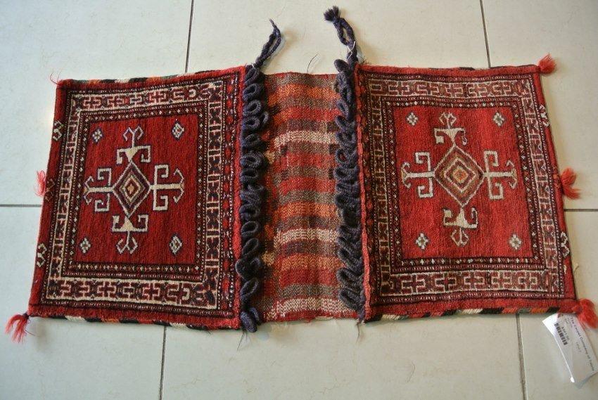 Persian rug saddel bag Shahsavan