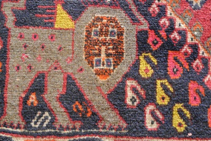 Persian rug Gabbeh Shiraz Queen Soraya