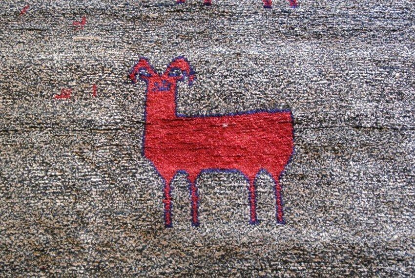 Persian rug for nursery  gabbeh
