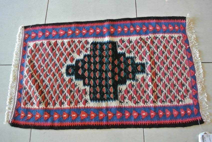 Persian prayer rug Seneh Kilim