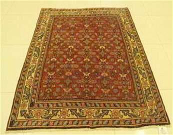 Persian rug Bijar halvai Mahi design