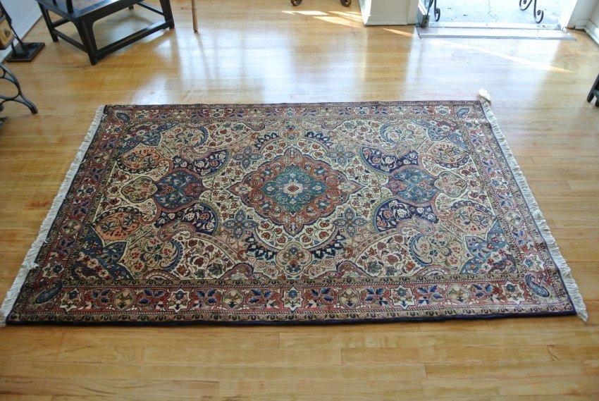 Persian rug hand made wool Saroogh