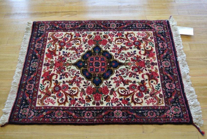 Persian rug hand made Bijar Halvai