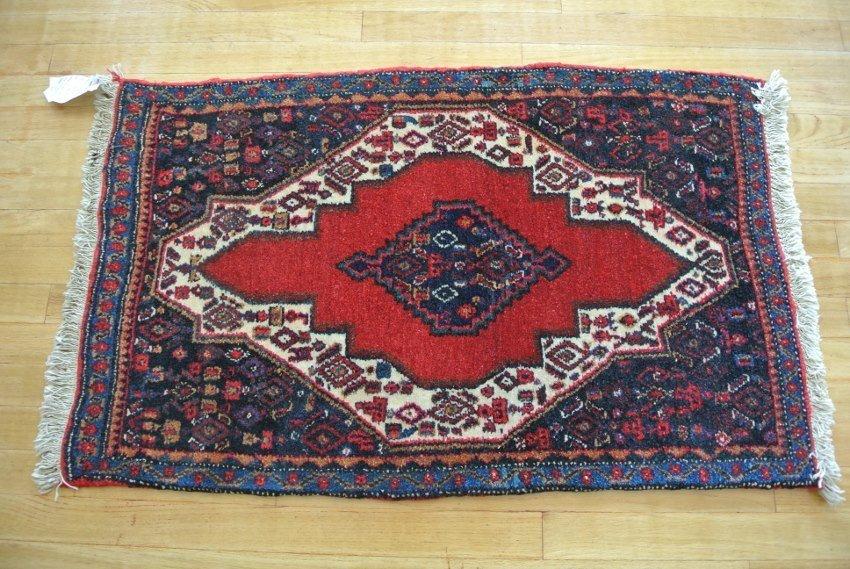 Persian rug mat Seneh