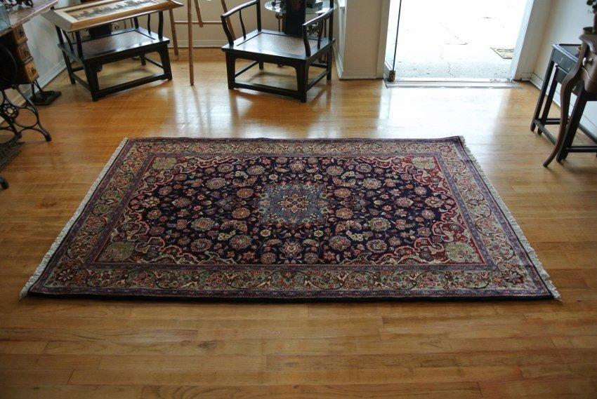 Hand made original Persian rug Saroogh
