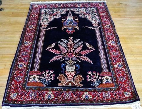 Persian rug Prayer rug Saroogh