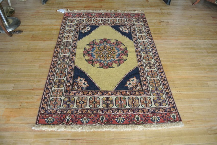 Persian rug Sumack combination weave Kerman