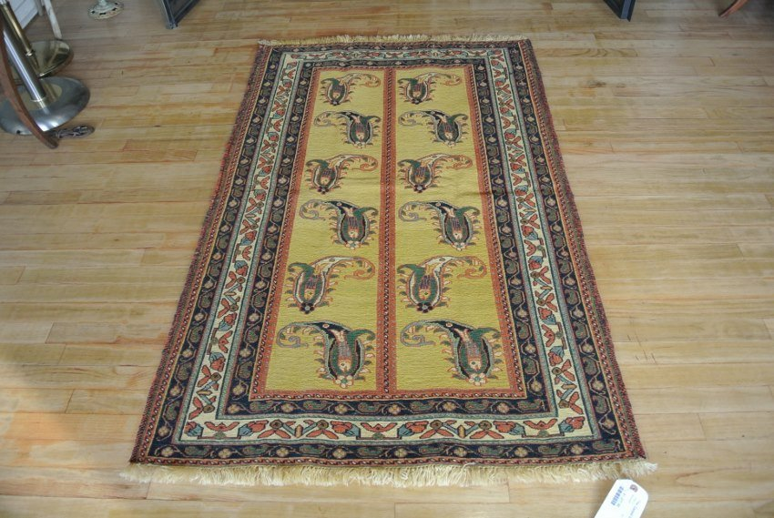 Persian rug sumack hand made in Kerman