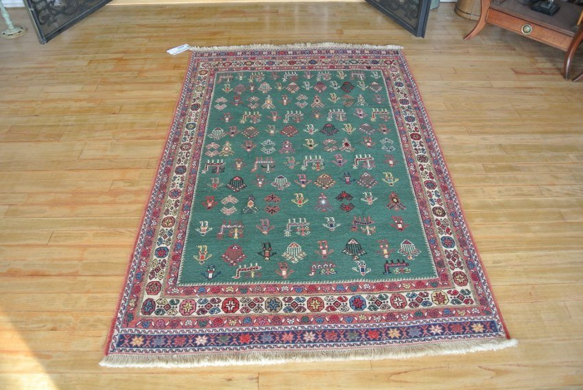Persian rug hand made nurcery carpet