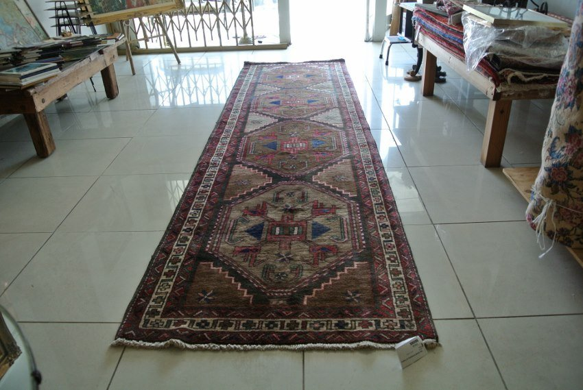 Persian carpet  Bold Tobacco color Sarab runner