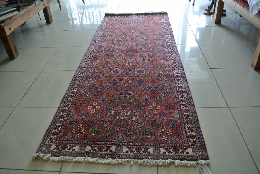 Persian rug Isfahan Josheghan design wide runner