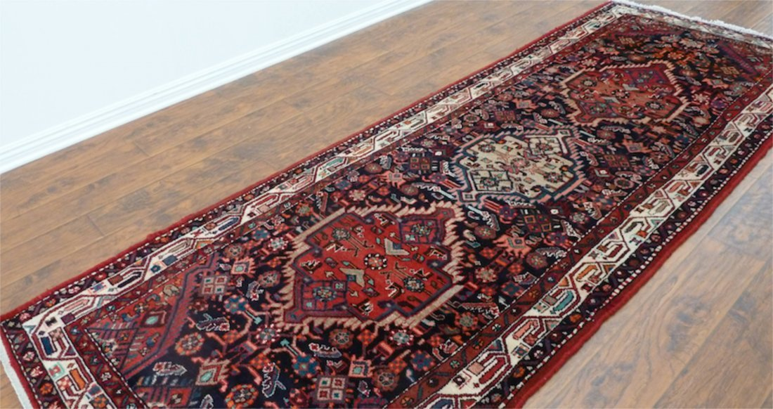 Persian rug runner malayer hand made dates