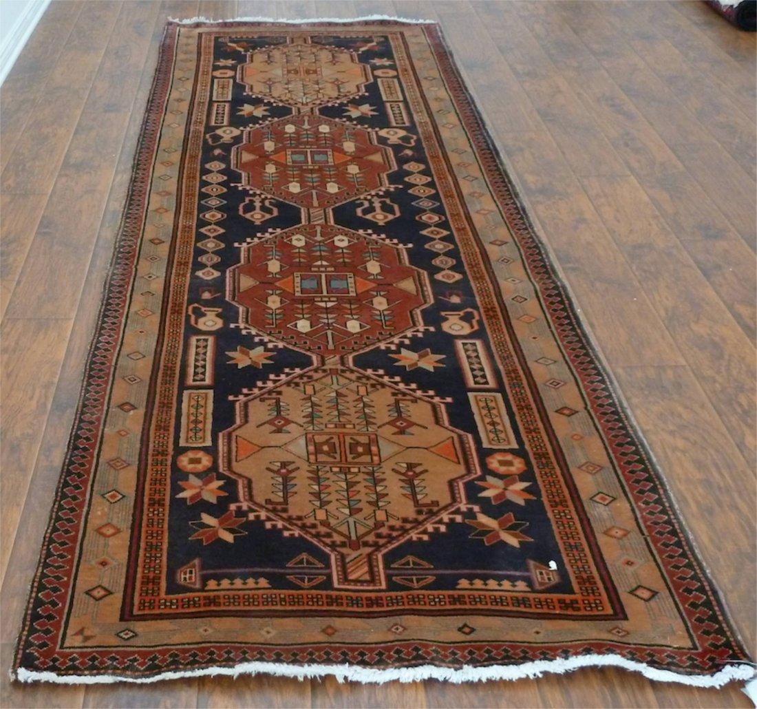 Persian rug runner Art Deco Sarab