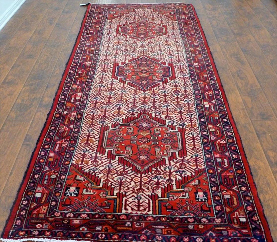 Persian rug runner Hamedan Enjelas Dokhtart neshoon