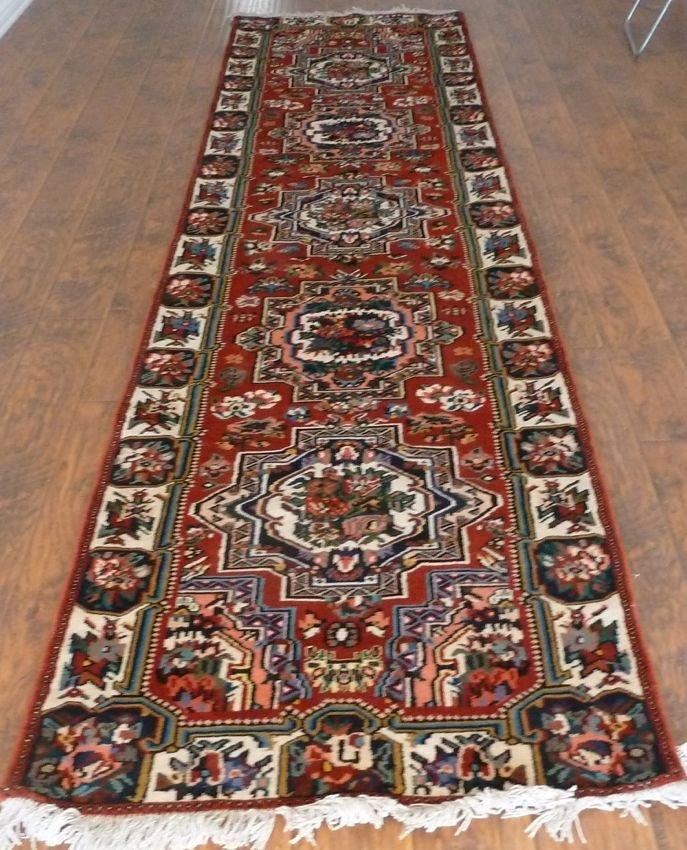 Persian rug hand made Bakhtiari Rose runner