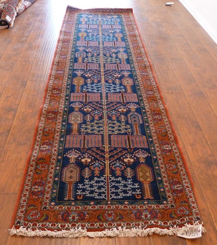 Persian rug Bakhtiari runner Cypress tree