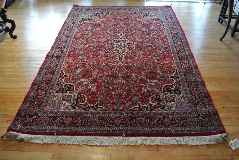 Persian carpet authentic Bijar Halvai
