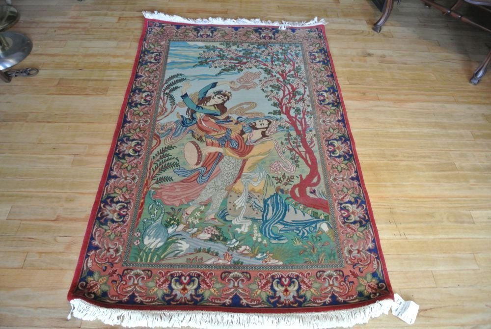 Persian carpet authentic all kurk wool Tabriz