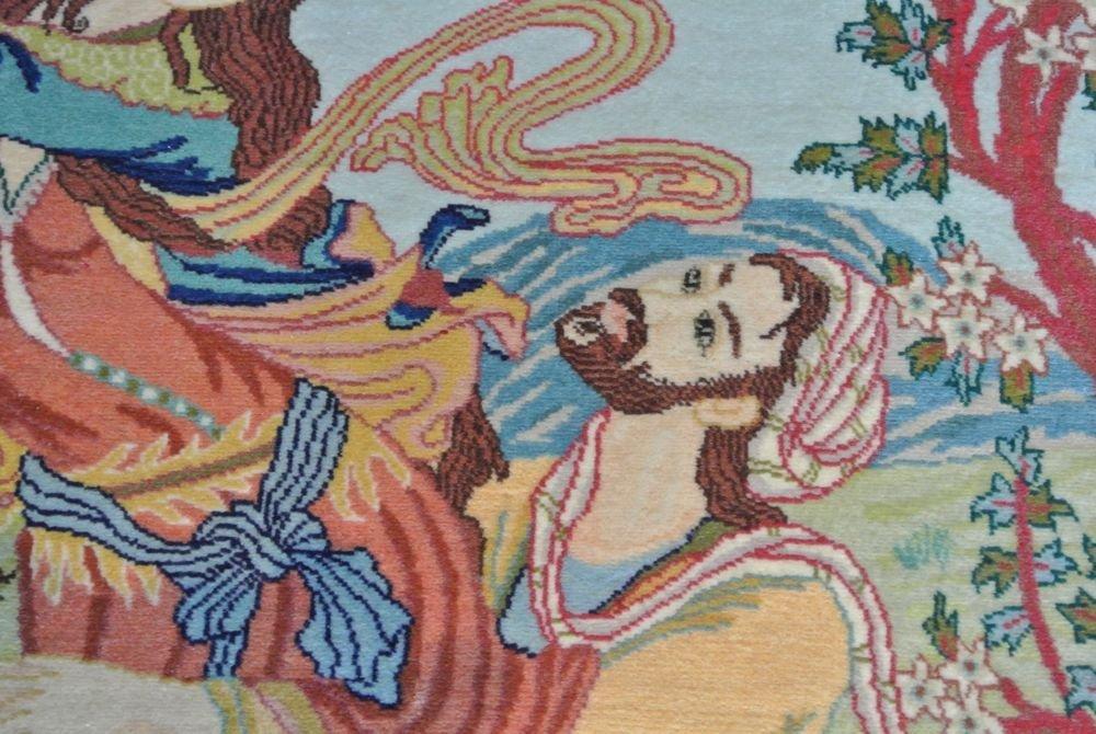 Persian carpet authentic all kurk wool Tabriz - 4