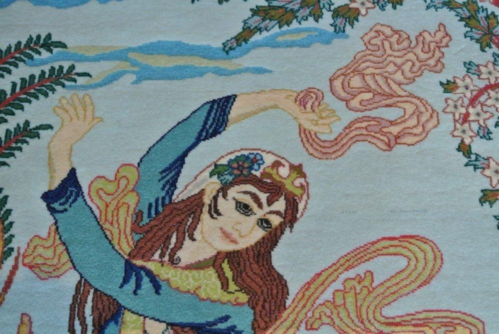 Persian carpet authentic all kurk wool Tabriz - 5