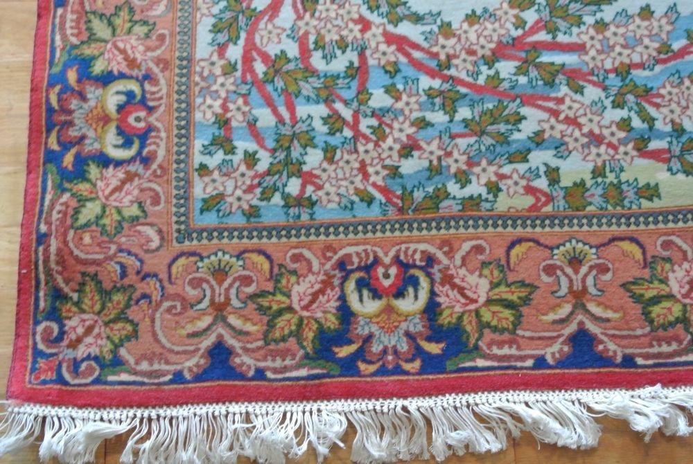Persian carpet authentic all kurk wool Tabriz - 6