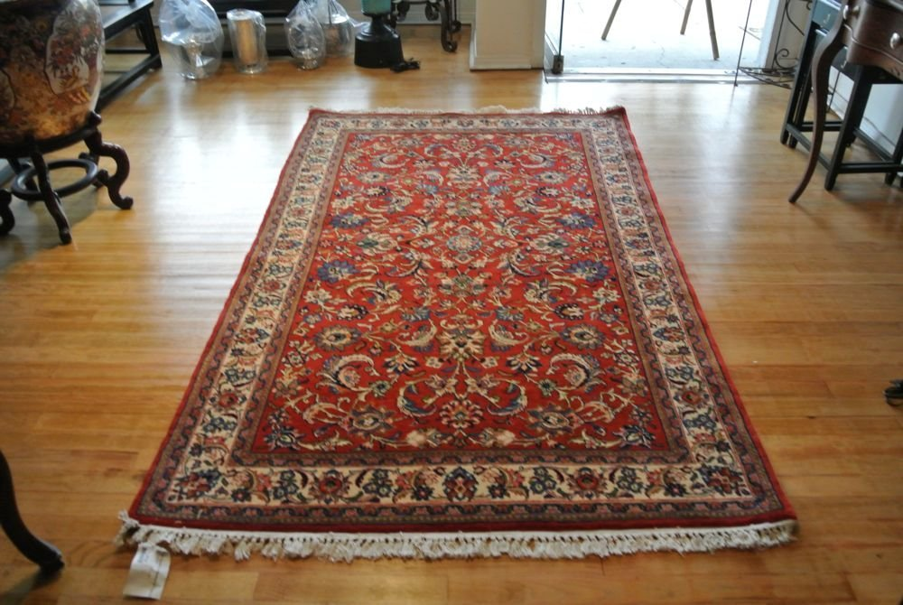 PERSIAN CARPET SAROOGH SHERKATE FARSHE IRAN