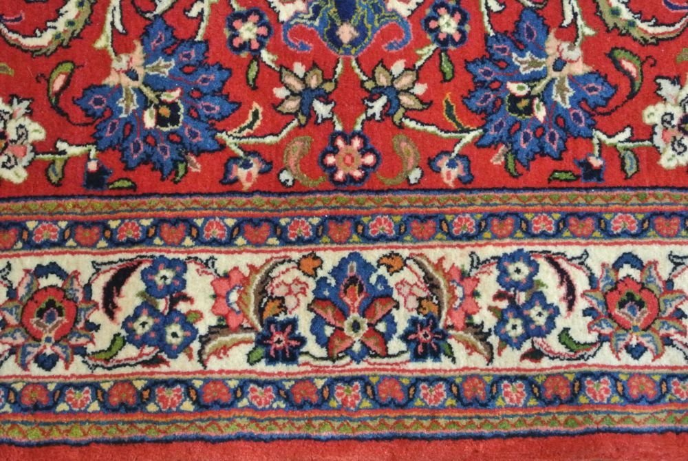 PERSIAN CARPET SAROOGH SHERKATE FARSHE IRAN - 3