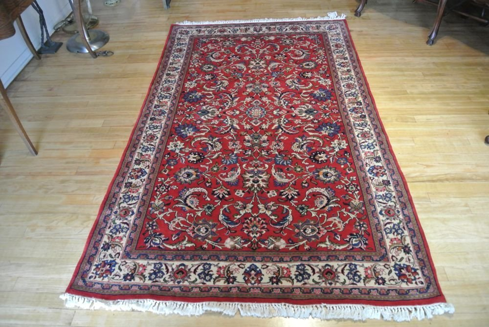 PERSIAN CARPET SAROOGH SHERKATE FARSHE IRAN - 8