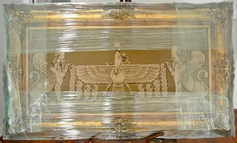 Persian pictorial rug Perspolis