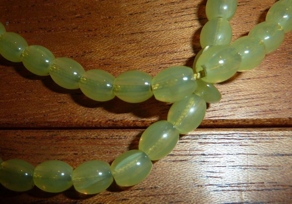 Peridot prayer beads Shah-Maghsood