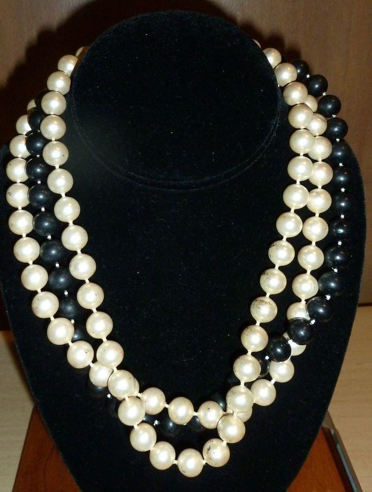 Plastic Princessa beads necklace