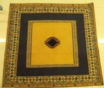 handmade wool Persian Kilim Sirjan