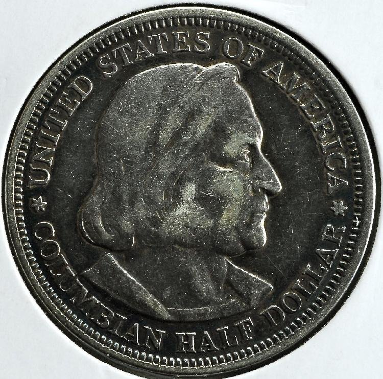 1893 Columbian Half Expo Silver Half Dollar
