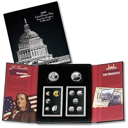 2006 American Legacy Silver Set