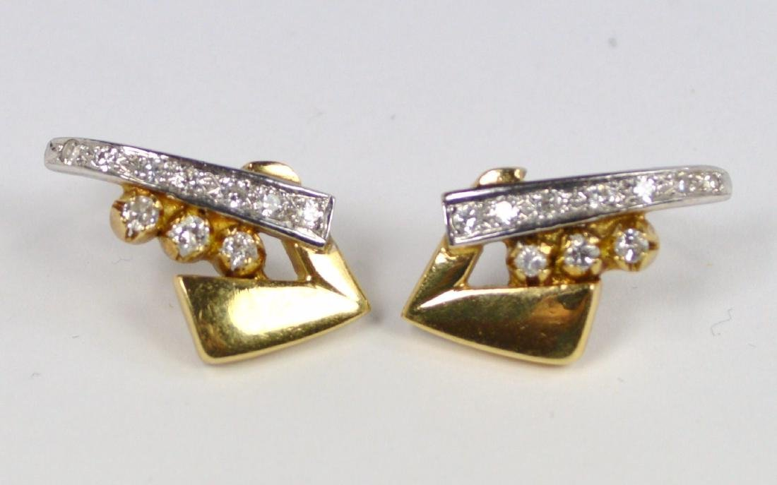 EARRINGS 14 KT GOLD