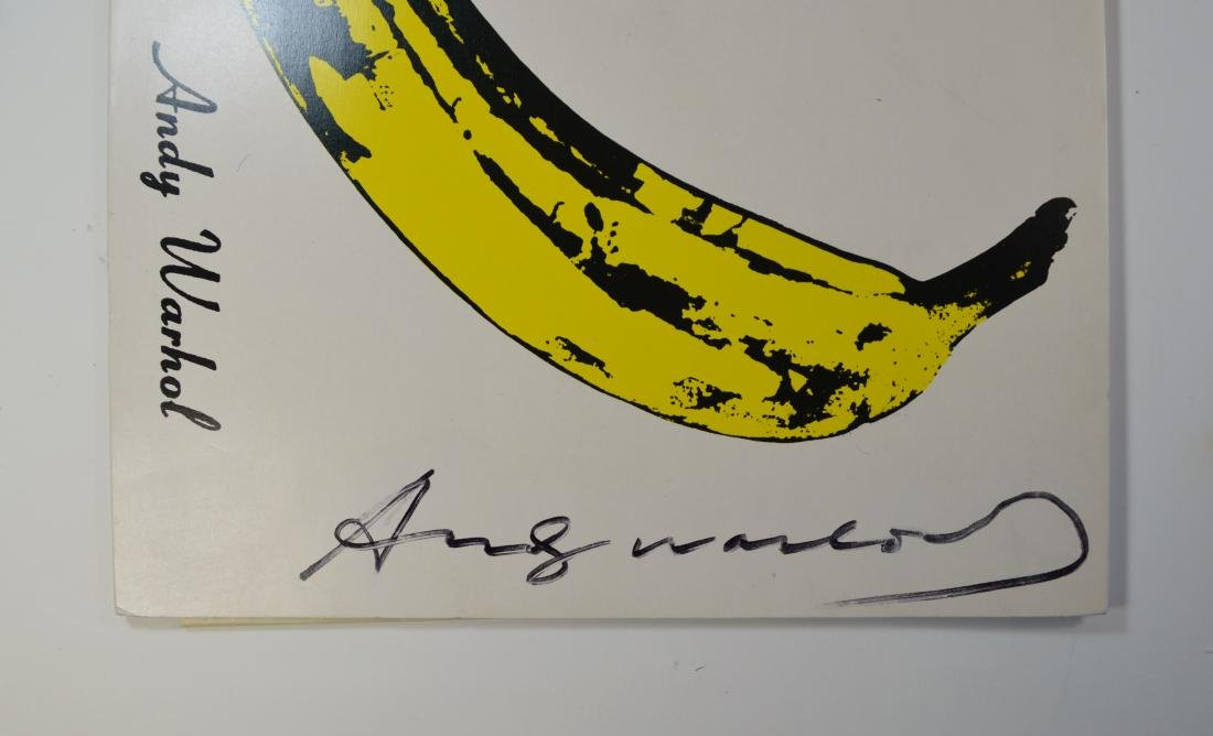 ANDY WARHOL VELVET UNDERGROUND WITH NICO LP WITH SIGNED - 2