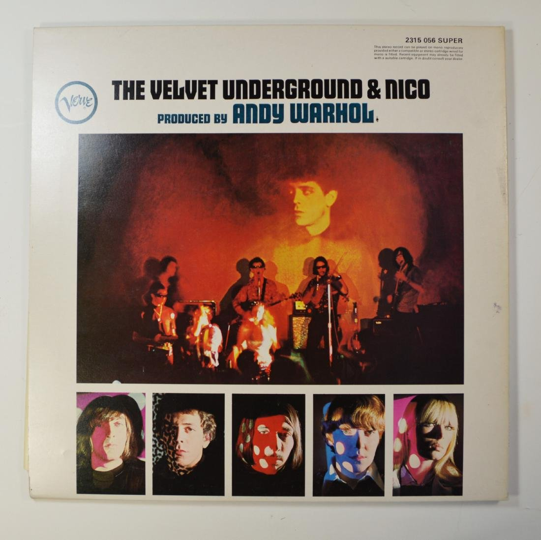 ANDY WARHOL VELVET UNDERGROUND WITH NICO LP WITH SIGNED - 4
