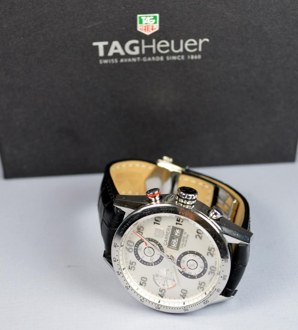 TAG HEUER CALIBRE 16 DAY AND DATE AUTO WATCH CA 2012