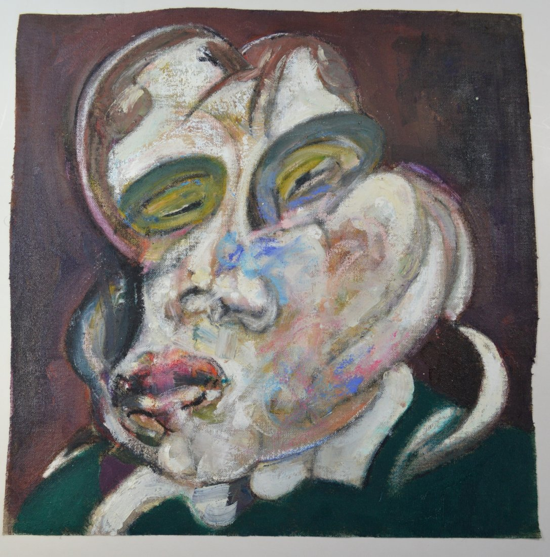 FRANCIS BACON ATTR OIL PAINTING
