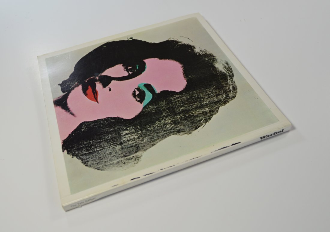 ANDY WARHOL TATE GALLERY BOOKLET 1971 SGD IN MARKER - 3